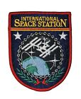 NASA PATCH vtg INTERNATIONAL SPACE STATION ISS Satellite Planet EARTH