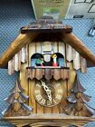 Vintage Cuckoo Clock - German Movement-New/Unused- Hand carved with action