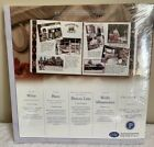 Creative Memories 12 x 12 NIP White Scrapbook Pages Old Style 2004