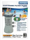 Intex Krystal Clear 530 GPH Pool Cartridge Filter Pump