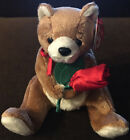 TY Beanie Baby ALWAYS the Bear Holding A Rose MWMTs Stuffed Animal Toy Brand New