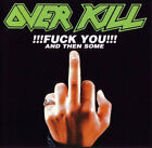 Overkill : !!!Fuck You!!! And Then Some CD (1999) Expertly Refurbished Product