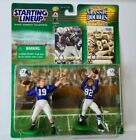STARTING LINE UP CLASSIC DOUBLES 99/2000 JOHNNY UNITAS RAYMOND BERRY FIGURES