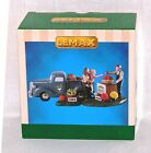 Lemax Village Buy Local Produce Stand Pickup Truck Farmer Miller Farm Figurine
