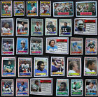1983 Topps Football Cards Complete Your Set You U Pick From List 1-200