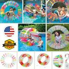 52 Inflatable Water Wheel Roller Float Swimming Pool Floating Toy Play for Kids