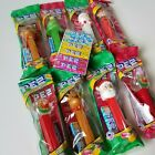 Pez Christmas Lot 7 Candy Pez Dispensers Refill Packs 2019 BB 9/2024 Santa Elf +