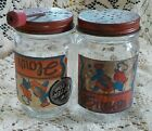 Flour Shaker with Sifter Top gingerbread jars