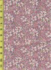 Quilt fabric 100 Cotton 1 2 yard18x 44Pink calico floral print