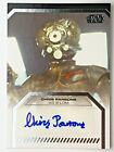 2013 Topps Star Wars Galactic Files 2 Autographs Guide 28