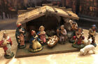 Vintage 15 Piece Nativity Set Made in Italy Ceramic Beautiful