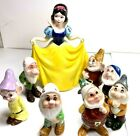 Walt Disney Snow White And The Seven Dwarfs Ceramic Vintage Figures Japan