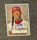 Justin Upton 2007 Topps 52 Autograph Card Auto RC Diamondbacks Angels Signed