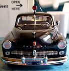1949 Mercury Police Cruiser Danbury Mint Die Cast Car 124 Collector Quality