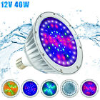 LED Inground Pool LightIP65 40W WaterproofColor Changing Bulb12V RGB+W