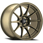 4 Konig 57BZ Dekagram 15x75 4x100 +35mm Bronze Wheels Rims 15 Inch
