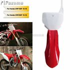 Supermoto Fairing Front Fender & Number Plate For Honda CRF150F CRF230F 15-19