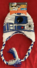 Star Wars R2-D2 Laplander Beanie Hat Ages 8+ NEW Shiny Metallic Lined