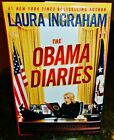 LAURA INGRAHAM SIGNED AUTOGRAPHED HC DJ BOOK THE OBAMA DIARIES 2010