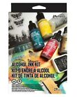 Ranger Tim Holtz Alcohol Ink Set 29pcs Ink Stamps +Yupo Paper ALL NEW in Pkg