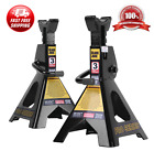 6000 LB 3 Ton Jack Stands Pair For Garage Car Truck Lift Tire Change Lifting