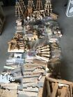 Lot Wood Turning Patterns Christmas Nativity German Carousel Pyramid Carvings
