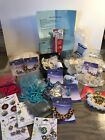 Jewelry Making Craft Lot Glass BeadsNaturalStones Vintage Pearl Crochet Items