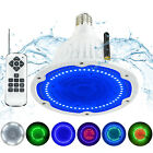 Color Change Led Swimming Pool Light Bulb 120V 40W Fits Pentair Hayward Fixture