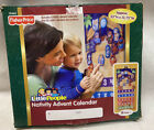 NEW Fisher Price Little People Fabric Advent Calendar Christmas Nativity Box