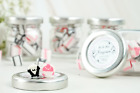 Personalised Wedding Favour Sweet Jars Mr  Mrs Candy Party Favours Wedding Gift