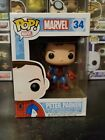 Funko Pop! Marvel Spider-Man Peter Parker #34 Comikaze Exclusive WITH HARD STACK