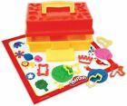 BRAND NEW PLAY DOH PLAY DOH CREATE N STORE TOOLBOX CARRY CASE CUTTERS MOLDS