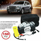 150 PSI Heavy Duty Portable Air Compressor Car Tyre Auto Tire Inflator Pump 12V