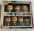 BTS 7 Pack Funko POP Exclusive Collection from Barnes and Noble, New Un-Opened