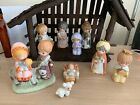Used vintage HOMCO Childrens Nativity Set Christmas Home Interiors