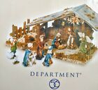Dept 56 MINI Nativity Set of 11 Original Box Christmas Collectable 5642271