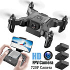 4DRC V2 Mini Drone With Without HD Camera Hight Hold Mode RC Quadcopter RTF WiFi