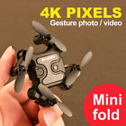 Mini 4DRCV2 Drone Selfie WIFI FPV With HD Camera RC Quadcopter Toy Gift US