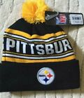 Pittsburgh Steelers Youth NFL Beanie Knit Hat