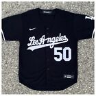 Los Angeles Dodgers Mookie Betts Jersey #50 Black Authentic Nike