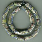 African Trade beads Vintage Venetian old glass beads rare matched millefiori