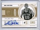2010-11 National Treasures Century Doc Rivers Autograph 49 - Knicks Clippers
