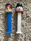 Lot Of 2 Disney Pez Dispensers Jake & The Neverland Pirates And White Snowman