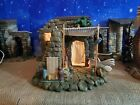 Fontanini Pottery Shop Lighted Building for 5 Scale Nativity Set Heirloom