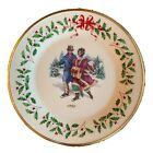 Lenox The Annual Holiday Collector Plate 1998 Eighth in Series Skating Couple
