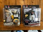 McFarlane NFL 34 AARON RODGERS Head Variant Chase Bronze #743 3000 + MARSHALL