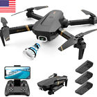 FPV RC Quadcopter Drone with 4K HD WIFI Dual Camera Headless Mode4DRC