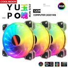 COOLMOON YUPO Computer Case PC Cooling Fan 5v 3Pin aRGB 120mm Quiet IR Remote