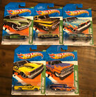 Hot Wheels 2011 Treasure Hunts lot of FIVE different PONTIAC GTO CHEVY EL CAMINO