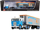 WHITE FREIGHTLINER W REEFER TRAILER HOWARD JOHNSONS 1 64 DCP FIRST GEAR 60 0818